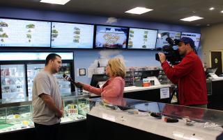 Capitol Compliance Management blog - Florin Wellness Center has a segment during Fox 40's morning show after winning a Capitol Cannaseur Award