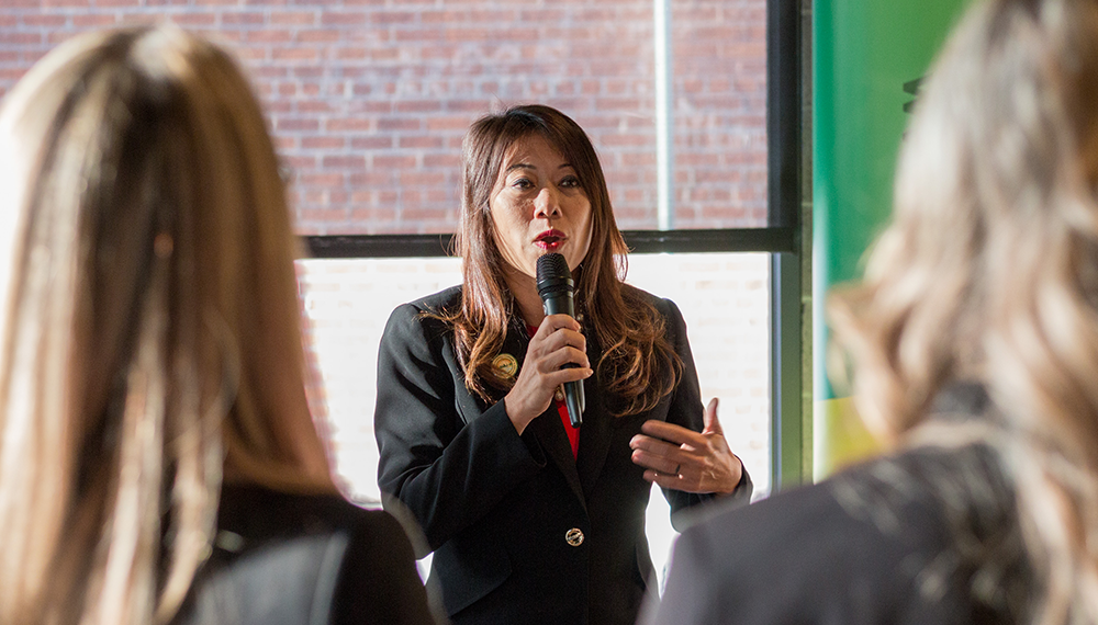 Capitol Compliance Management blog - Fiona Ma's speech was as insightful as it was inspirational.