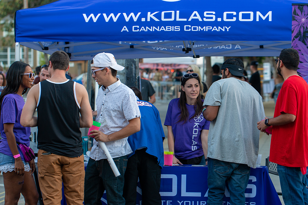 Capitol Compliance Management blog - Second saturday sacramento kolas booth merch swag free stuff