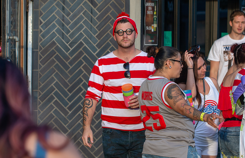 Capitol Compliance Management blog - Second saturday sacramento wheres waldo costume the depot lavender district